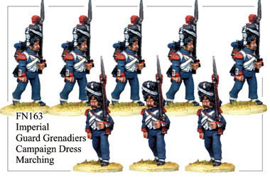 FN163 - Imperial Guard Grenadier In Campaign Dress Marching