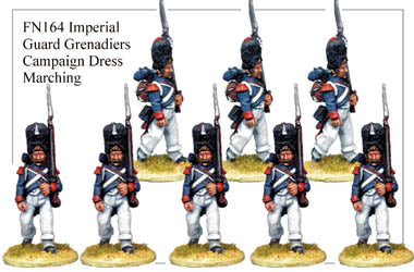 FN164 - Imperial Guard Grenadier In Greatcoat Marching