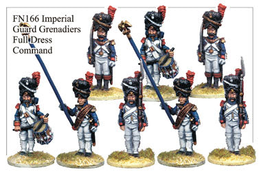FN166 - Imperial Guard Grenadiers In Full Dress Command