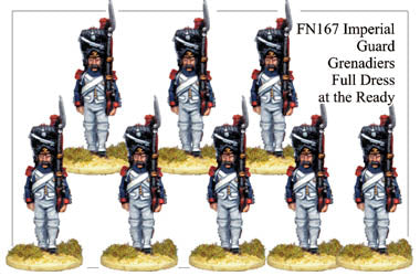 FN167 - Imperial Guard Grenadiers In Full Dress at the Ready