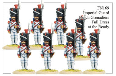 FN169 - Imperial Guard Dutch Grenadiers In Full Dress At The Ready