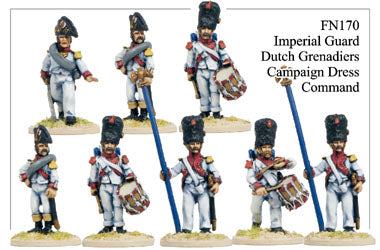 FN170 - Imperial Guard Dutch Grenadiers In Campaign Dress Command