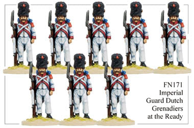 FN171 - Imperial Guard Dutch Grenadiers In Campaign Dress Standing