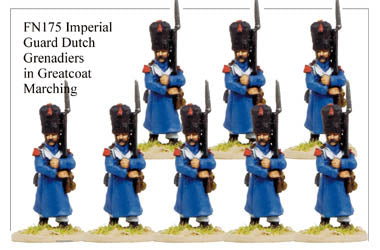 FN175 - Imperial Guard Dutch Grenadiers In Greatcoat Marching