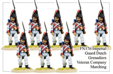 FN176 - Imperial Guard Dutch Grenadiers Veteran Company Marching