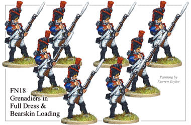 FN018 - Grenadiers In Full Dress And Bearskin Loading