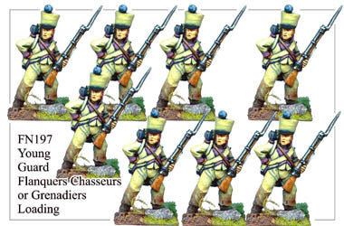 FN197 - Young Guard Flanquers Chasseurs Or Flanquers Grenadiers Loading
