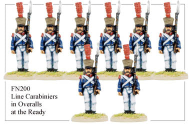 FN200 - Late Light Infantry Chasseurs Elite Company Carabineers Standing