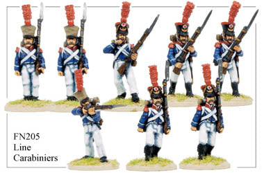FN205 - Late Light Infantry Chasseurs Elite Company Carabineers
