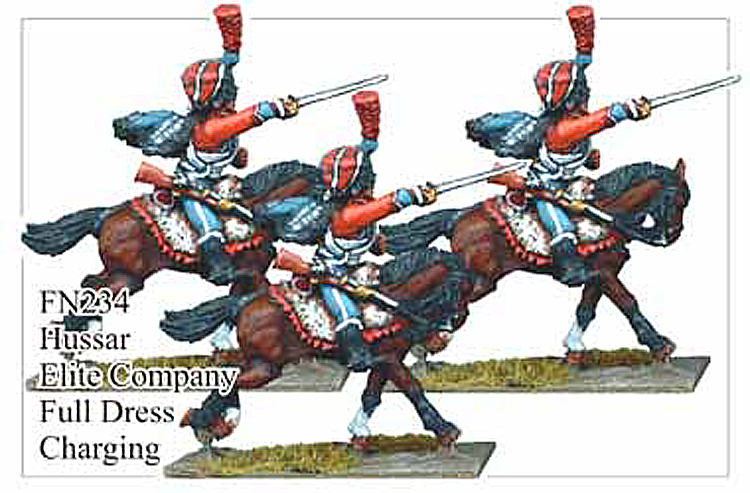 FN234 - Elite Company Hussars In Full Dress