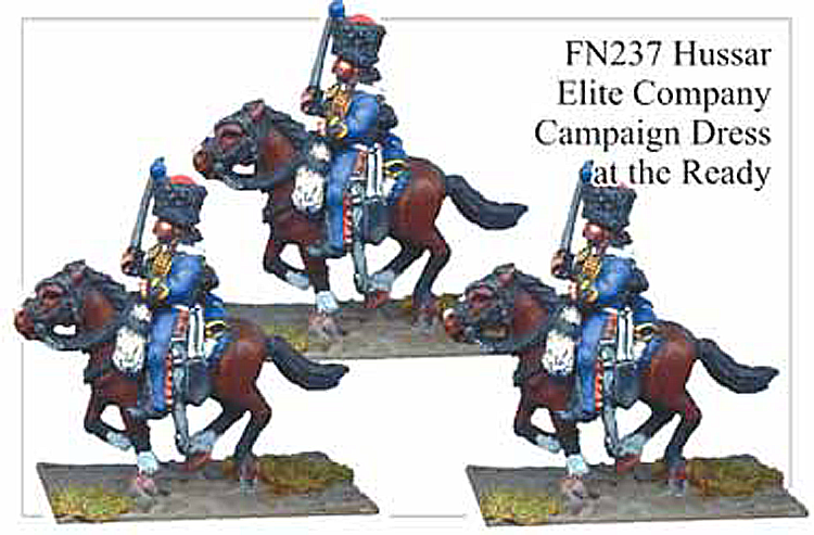 FN237 - Hussars In Campaign Dress And Kinski Coat Elite Company