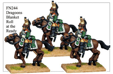 FN244 - Dragoons With Blanket Roll