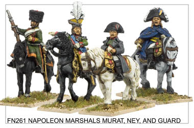 FN261 - Napoleon Bonaparte Marshals Murat And Ney And Guard