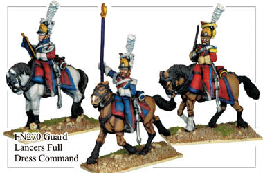FN270 - Imperial Guard Lancers In Full Dress Command