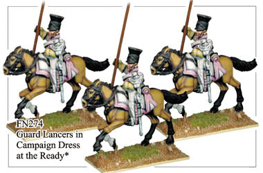 FN274 - Imperial Guard Lancers In Campaign Dress
