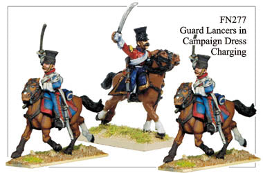 FN277 - Imperial Guard Lancers In Campaign Dress Charging With Sword