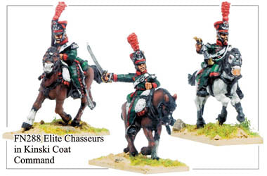 FN288 - Late Line Chasseurs A Cheval Elite Company Command