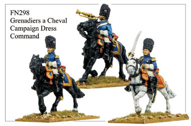 FN298 - Grenadiers A Cheval In Campaign Dress Command