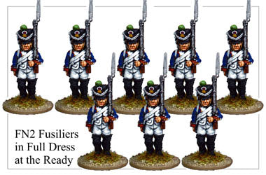 FN002 - Fuisiliers In Full Dress Marching