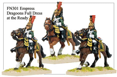 FN301 - Imperial Guard Empress Dragoons In Full Dress
