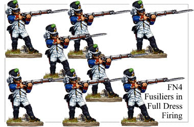 FN004 - Fusiliers In Full Dress Firing