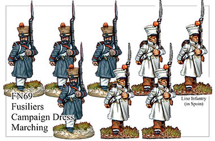 FN069 - Fusiliers In Greatcoat Marching