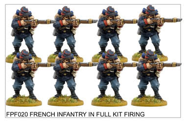 FPF020 French Infantry in Full Kit Firing