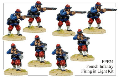 FPF024 French Infantry in Light Kit Firing