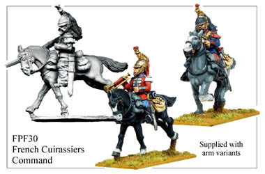 FPF030 French Cuirassiers Command