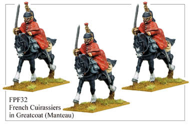 FPF032 French Cuirassiers in Greatcoats