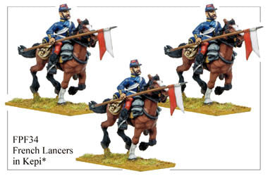 FPF034 French Lancers in Kepi