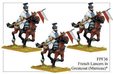 FPF036 French Lancers in Greatcoats