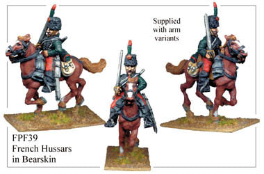 FPF039 French Hussars in Bearskins