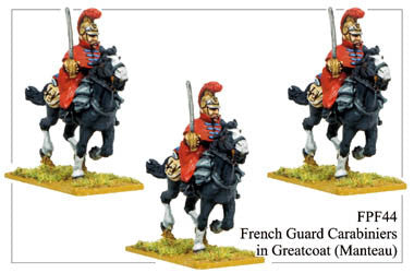 FPF044 French Guard Carabiniers in Greatcoats