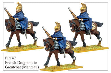 FPF047 French Dragoons in Greatcoats