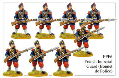 FPF006 French Imperial Guard in Bonnet de Police