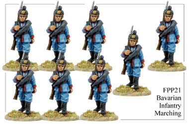 FPP021 Bavarian Infantry Marching
