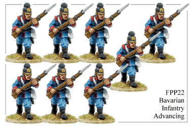 FPP022 Bavarian Infantry Advancing