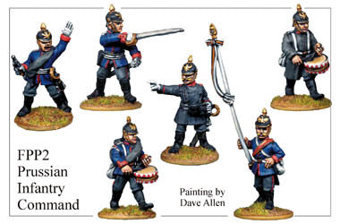 FPP002 Prussian Infantry Command