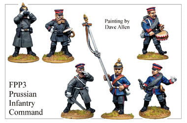 FPP003 Prussian Infantry Command