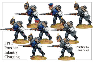 FPP005 Prussian Infantry Charging