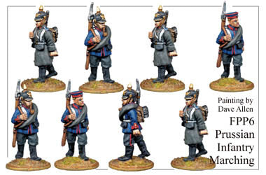 FPP006 Prussian Infantry Marching