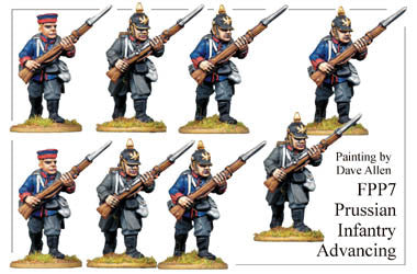 FPP007 Prussian Infantry Advancing