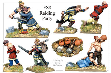 FS008 - Frank Or Saxon Raiding Party