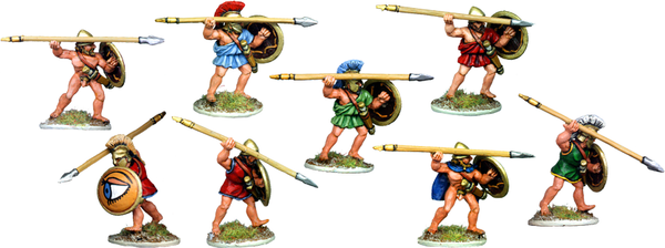 G003 - Greek Hoplites or Peltasts