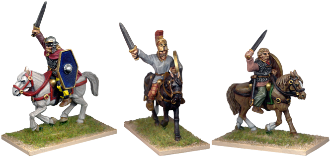 GL002 - Gallic Cavalry Characters