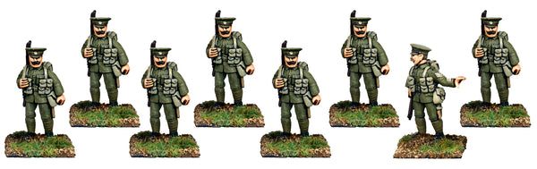 GWB004 - British Infantry In Service Dress Marching