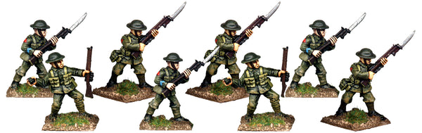 GWB009 - British Infantry In Helmets Attacking