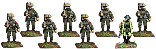 GWB013 - Infantry In Covered Helmets