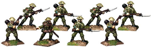 GWB014 - British Infantry In Covered Helmets